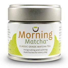 organic morning matcha tea